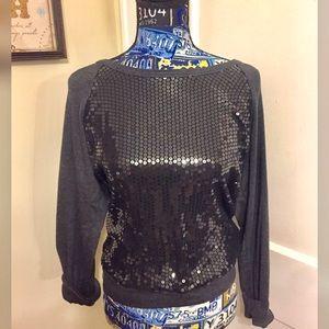 Sequined sweatshirt comfort zone  NY & Company